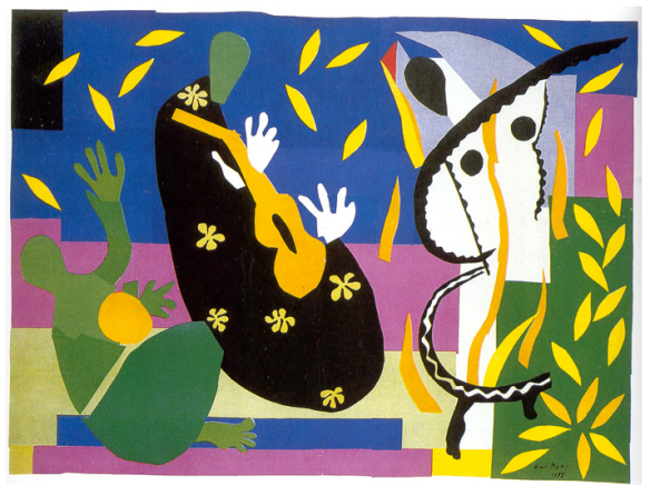 Sorrow of the King by Henri Matisse